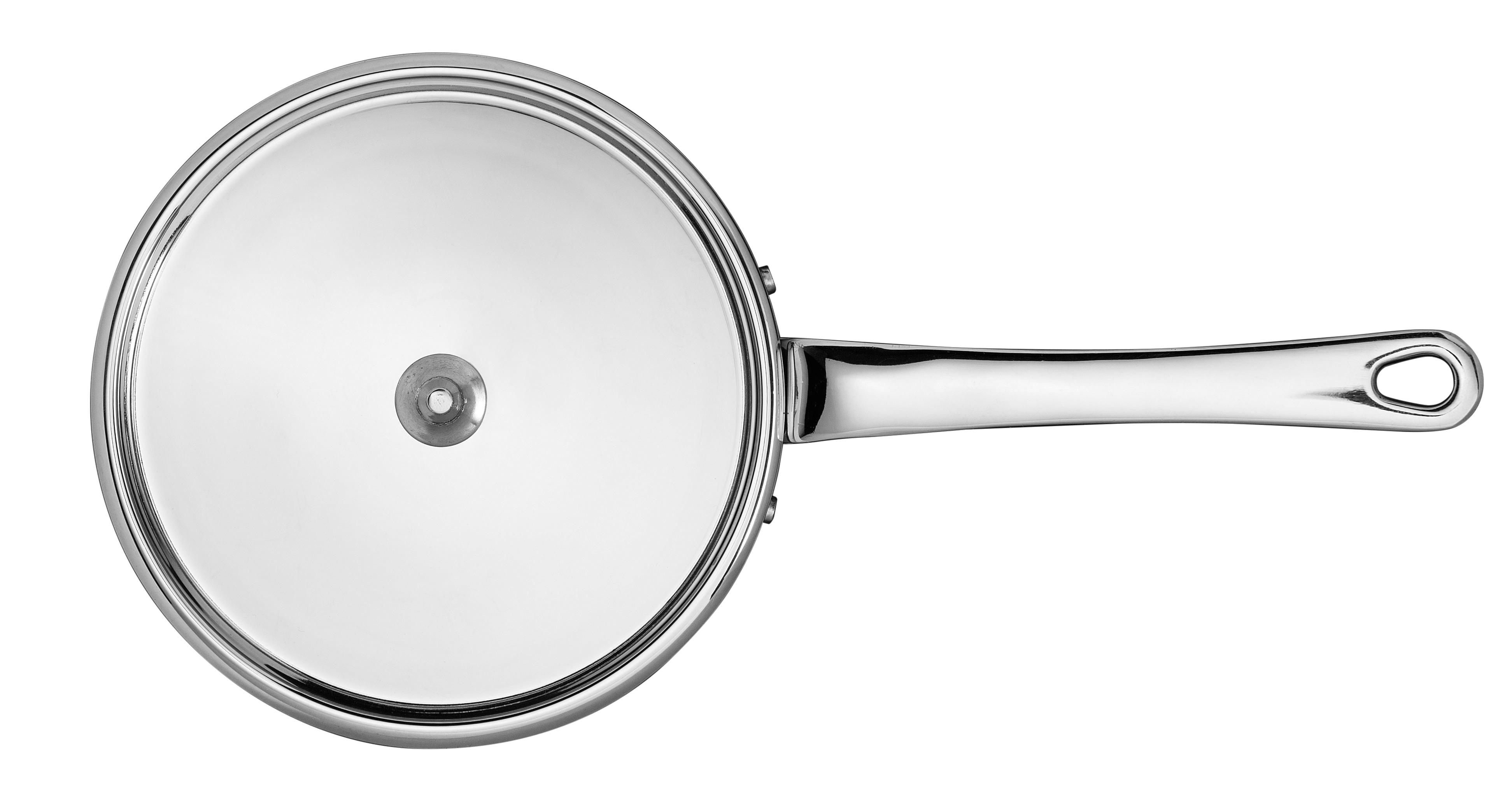 0,90 ltr/14 cm kasserolle med stållåg - Maitre D, 0,9 l 14 cm