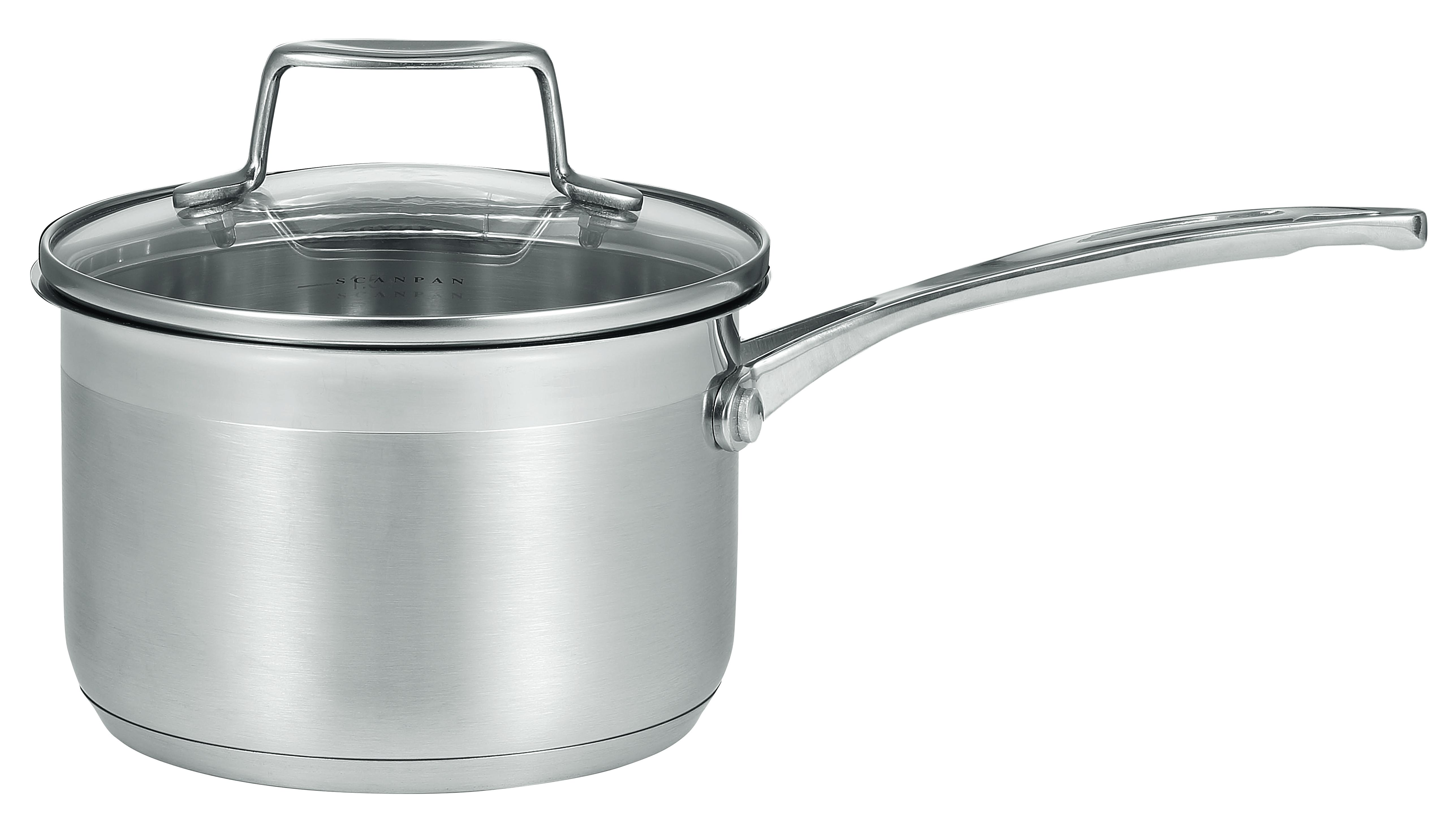 2,5l/18 cm kasserolle med glaslåg - Impact, 2,5 l 18 cm