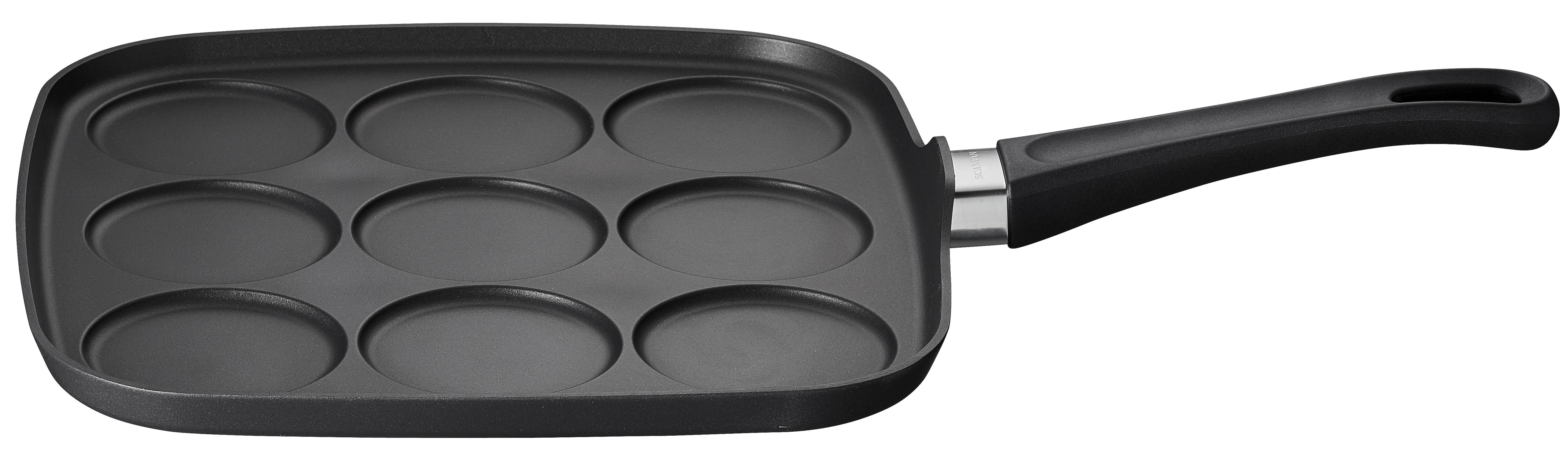 Mini Pancake/Blinis Pan, 9 pcs. - Classic,