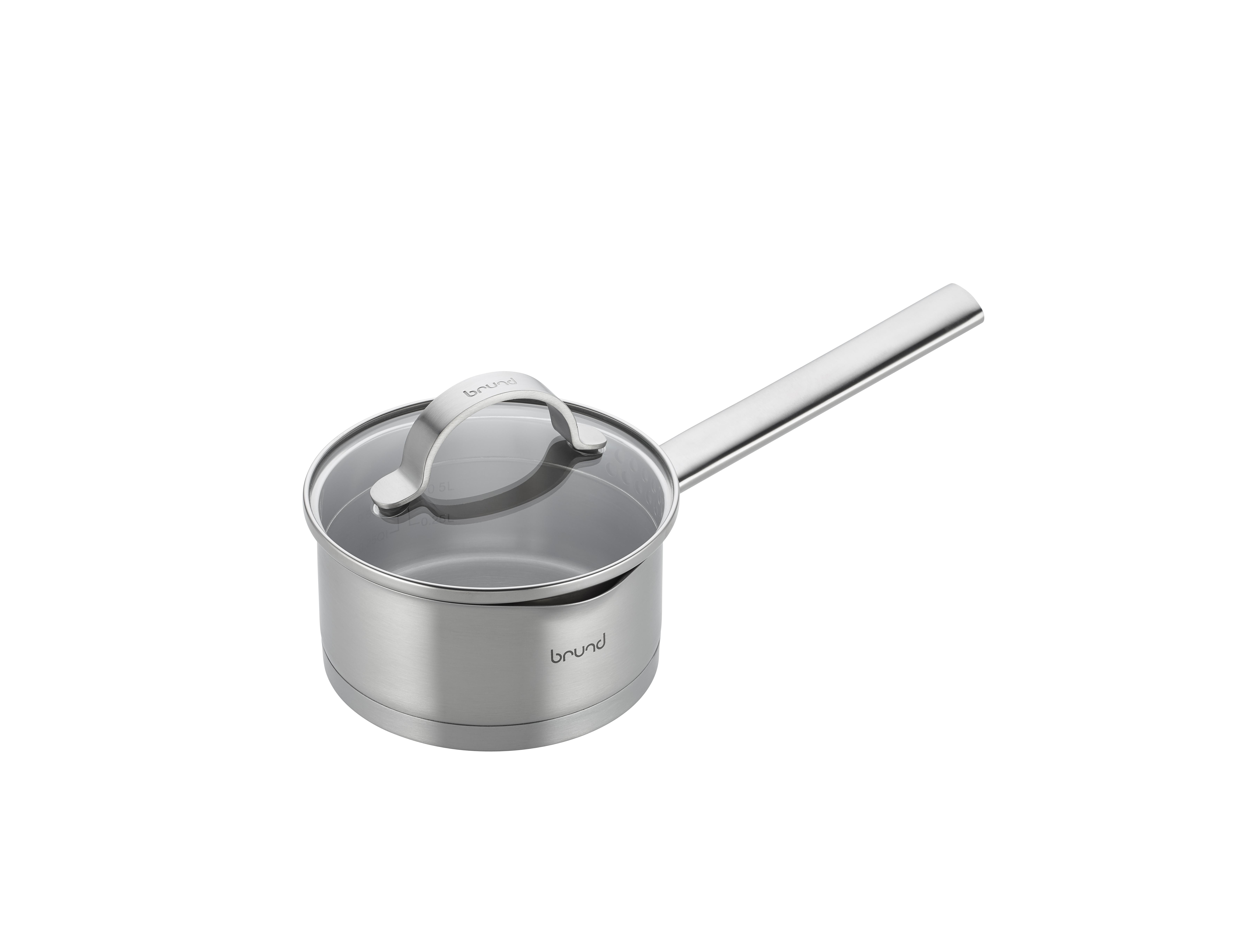 Billede af Brund by Scanpan 1,0 l kasserolle med låg - Brund One