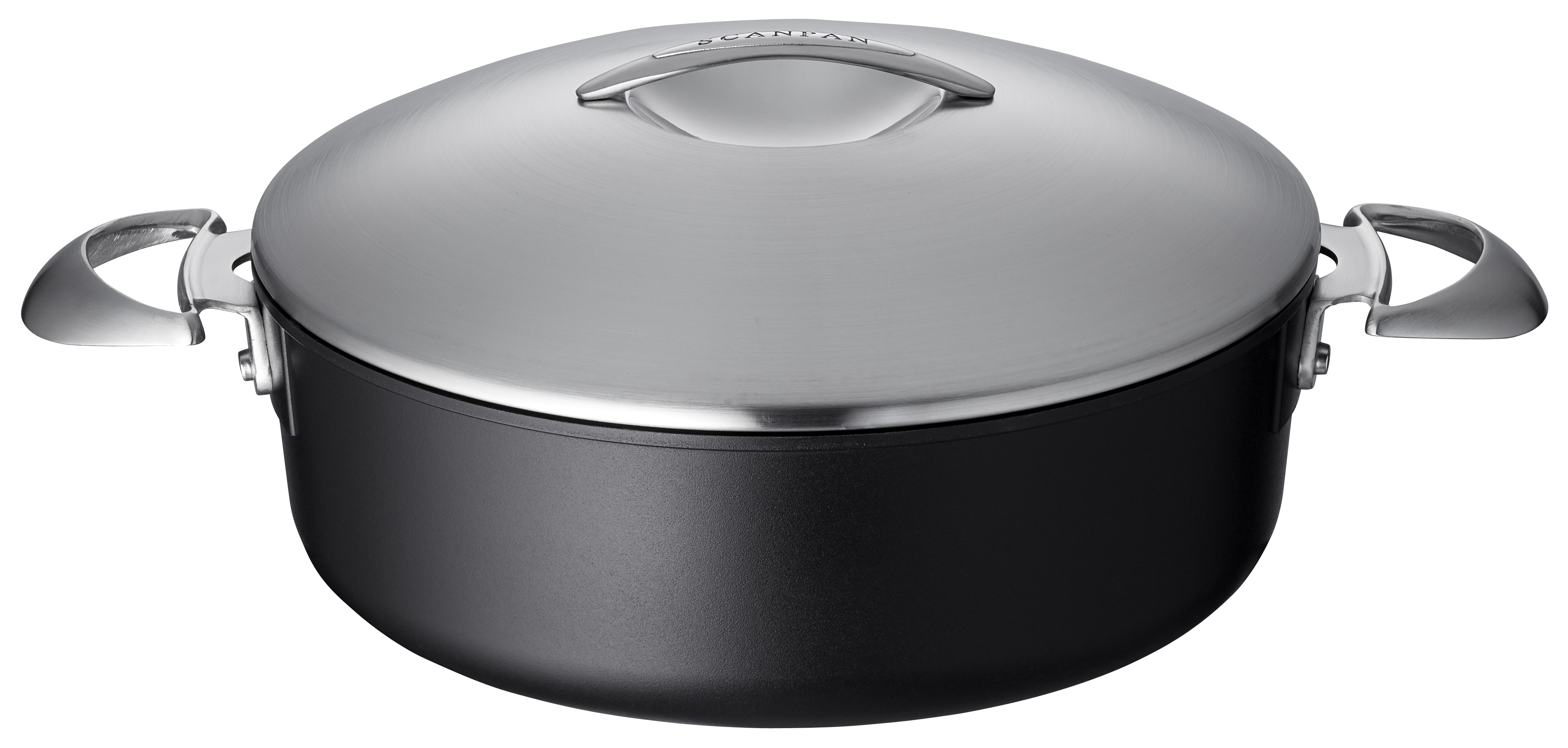 4.8L Low Sauce Pot w.Lid - Professional, 4.8L - 28cm
