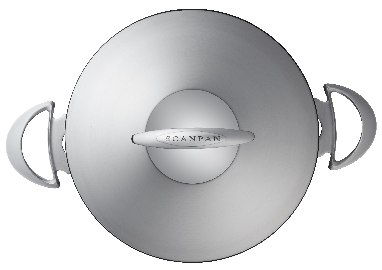 4,8l/24 cm gryde med stållåg- Professional, 4,8 l 24 cm