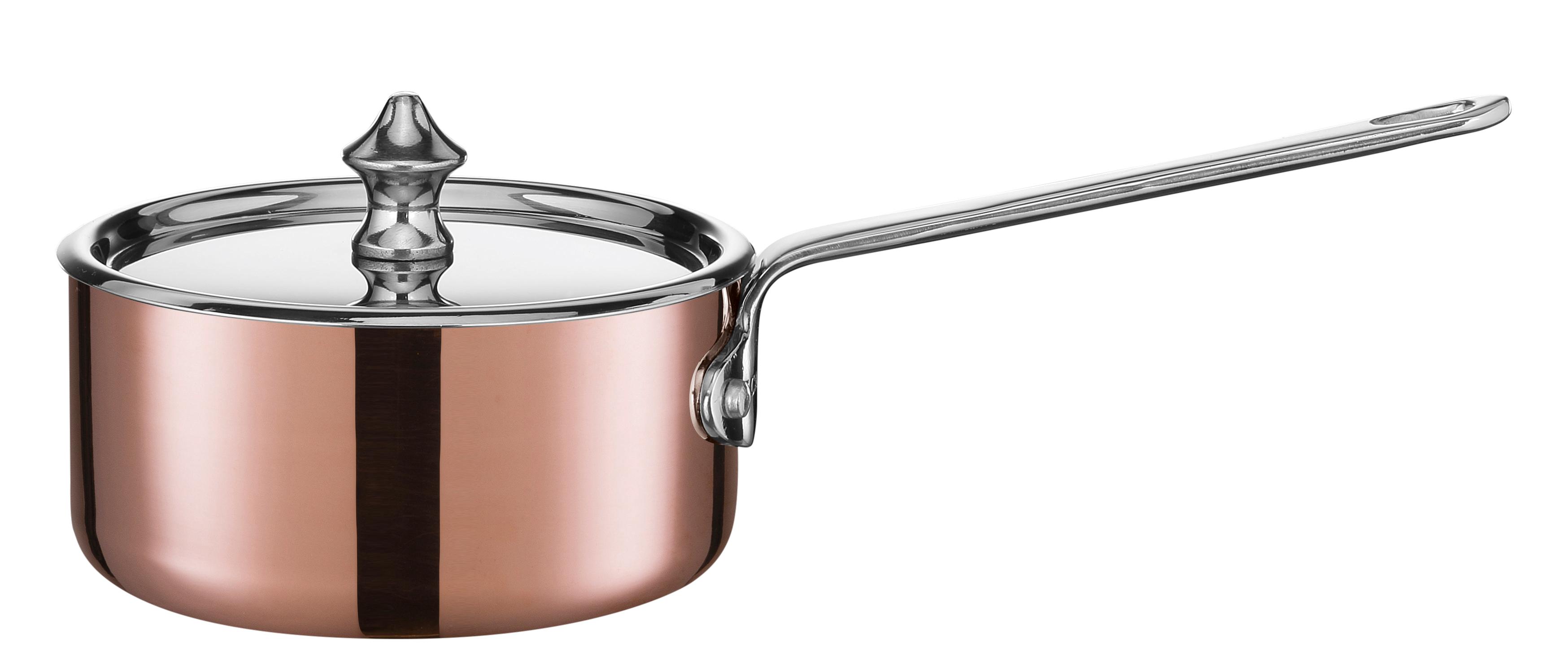 0,35 ltr./10 cm kasserolle med stållåg - Maitre D, 0,35 l 10 cm