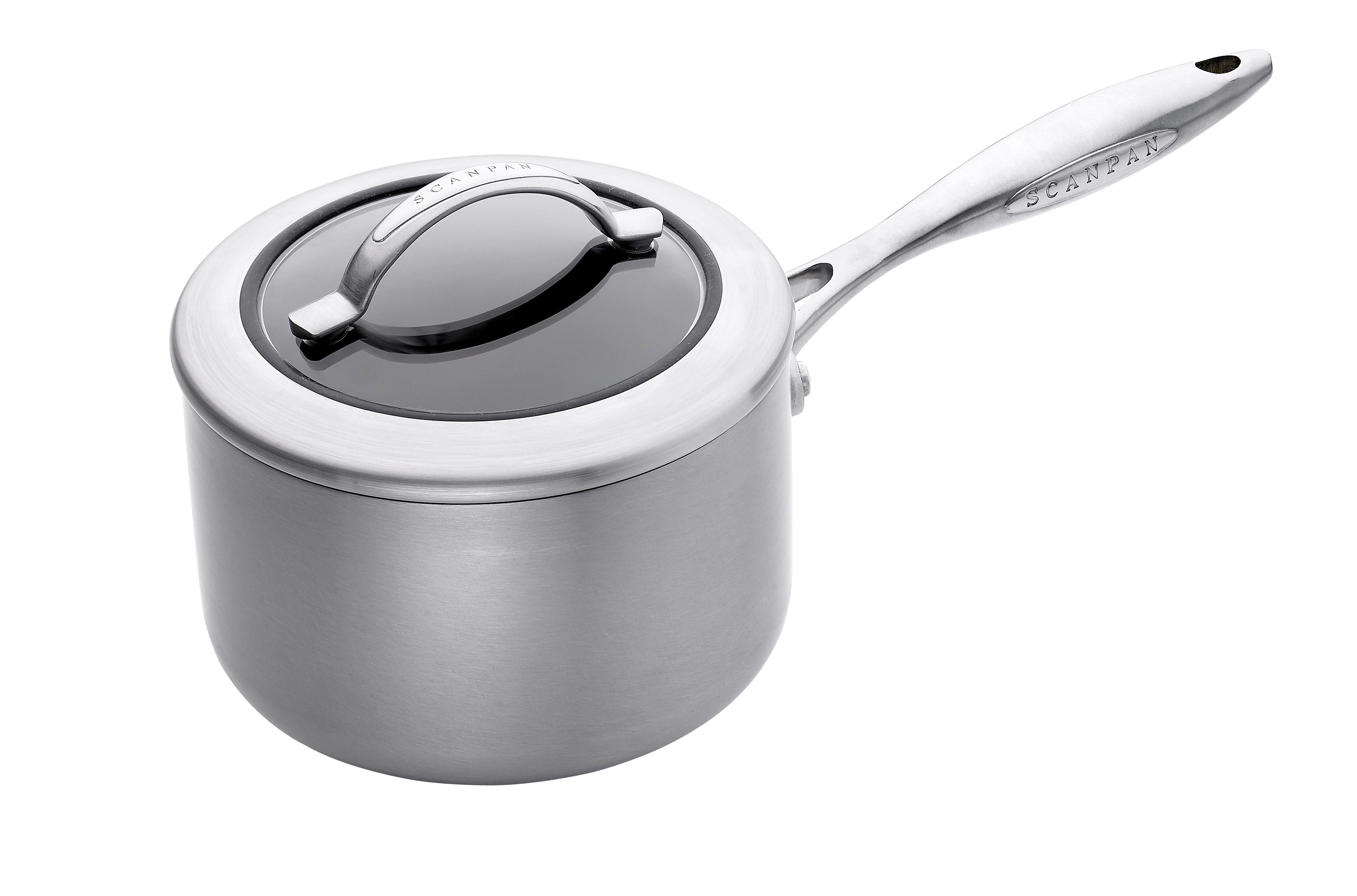 1,8l/16 cm kasserolle med glaslåg - CTX, 1,8 l 16 cm