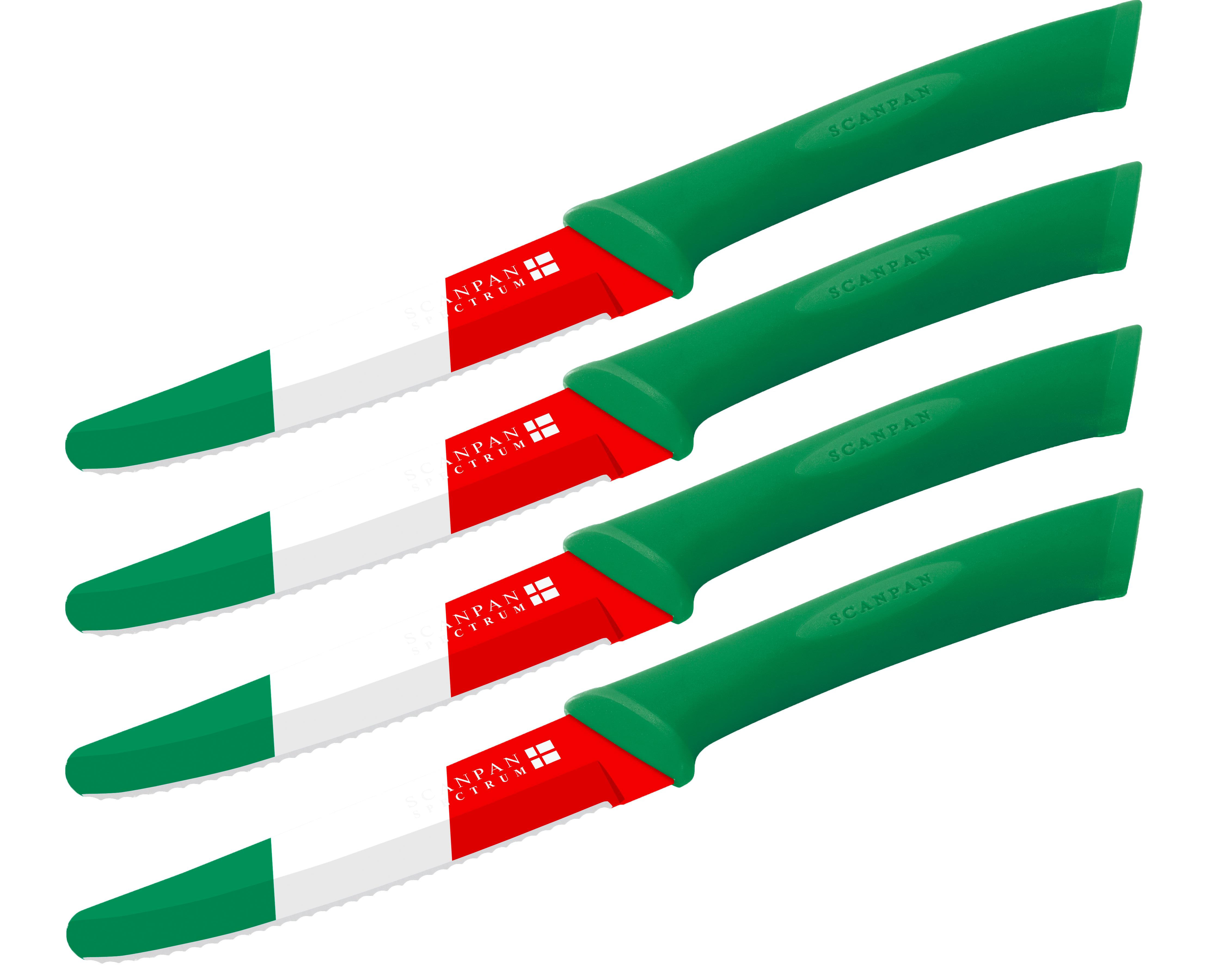 4pc.SteakKnifeSet - Italy - Spectrum,