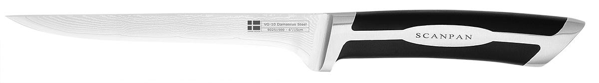 15cmudbenerkniv-Damastahl, 15 cm