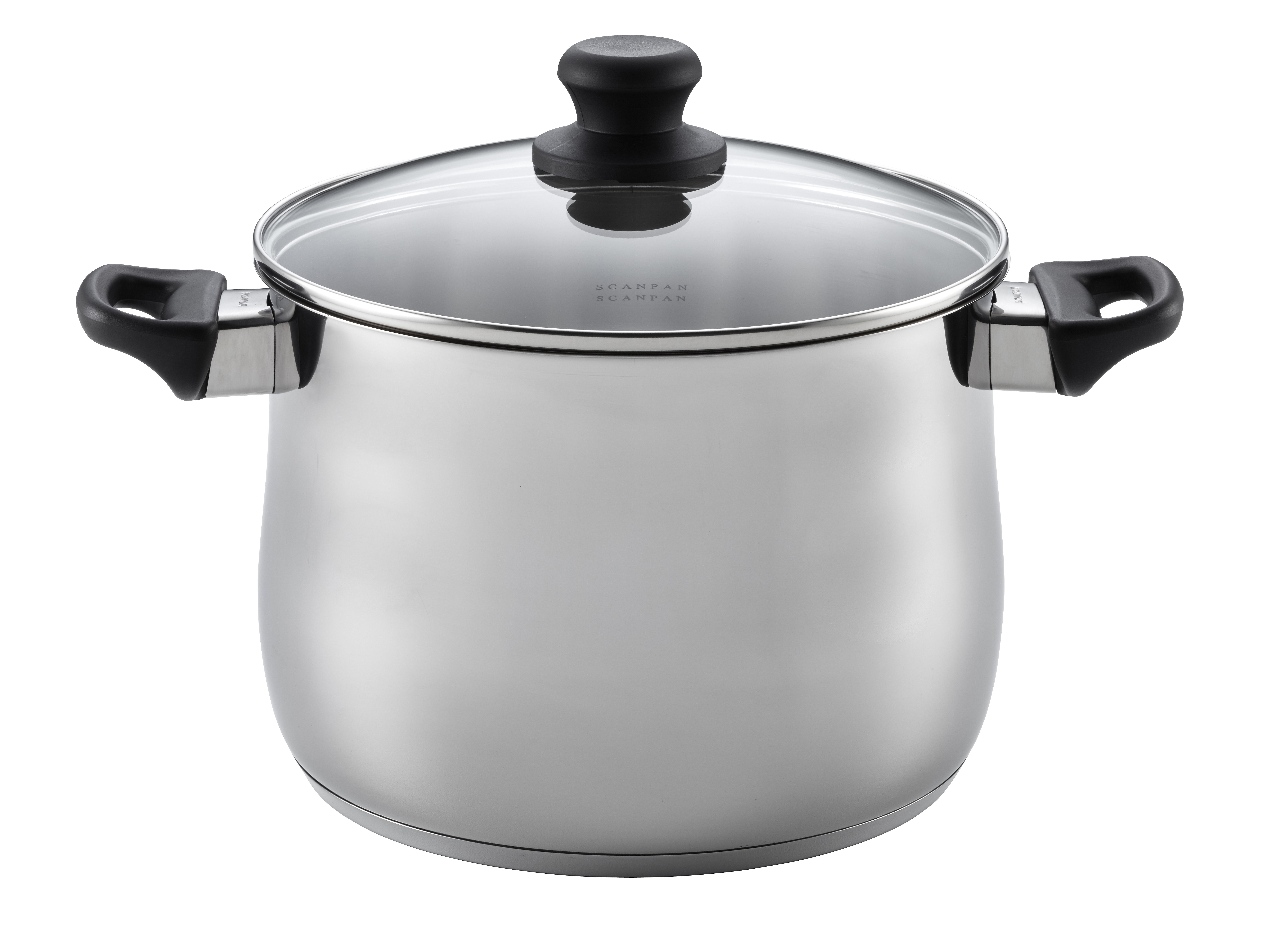 7.0 LStockPotwith lid-Classic Steel, 24cm