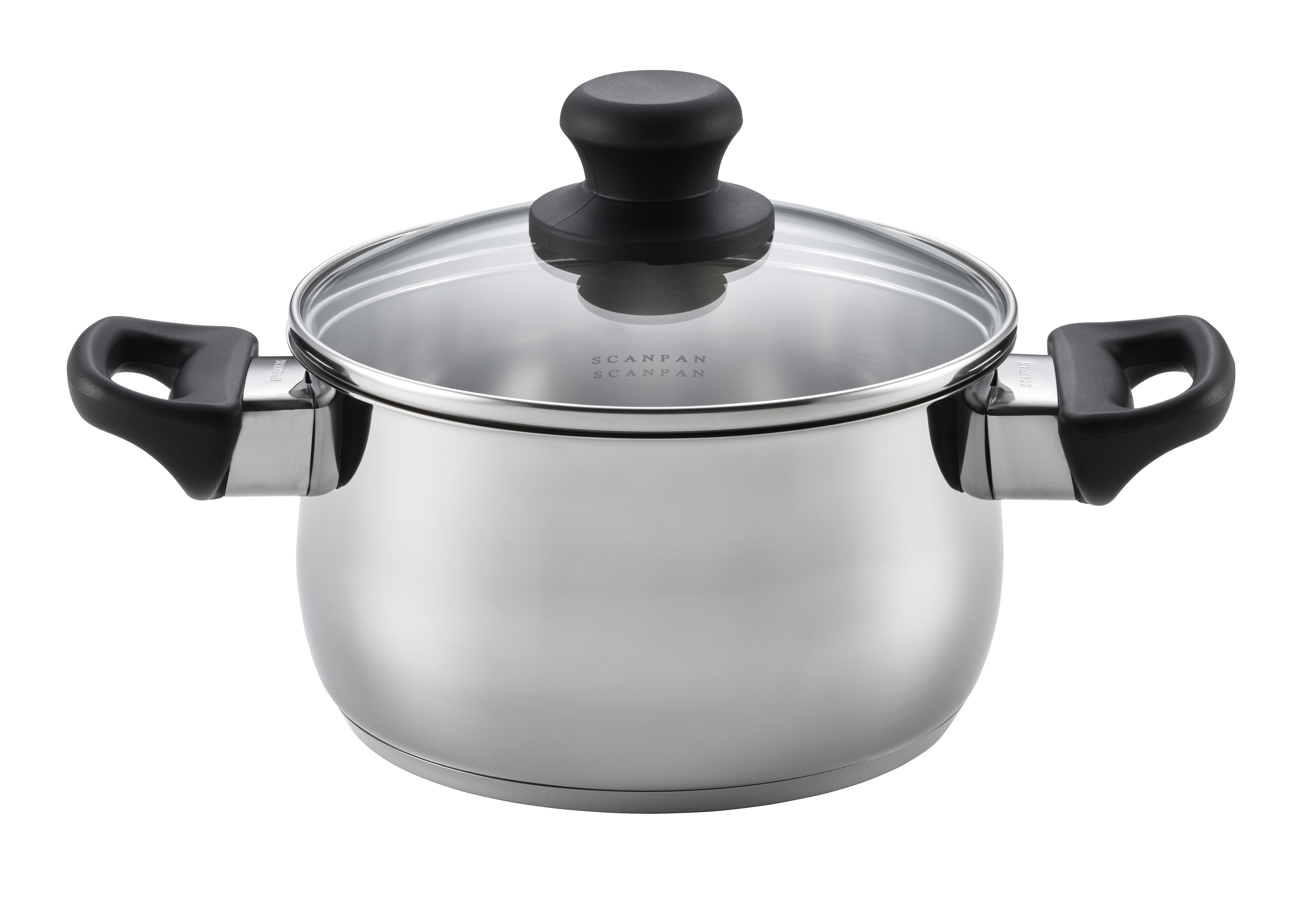 2.0 L Dutch Oven with lid -Classic Steel, 18cm