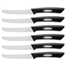6 pc. Steak Knife Set - Classic, Black