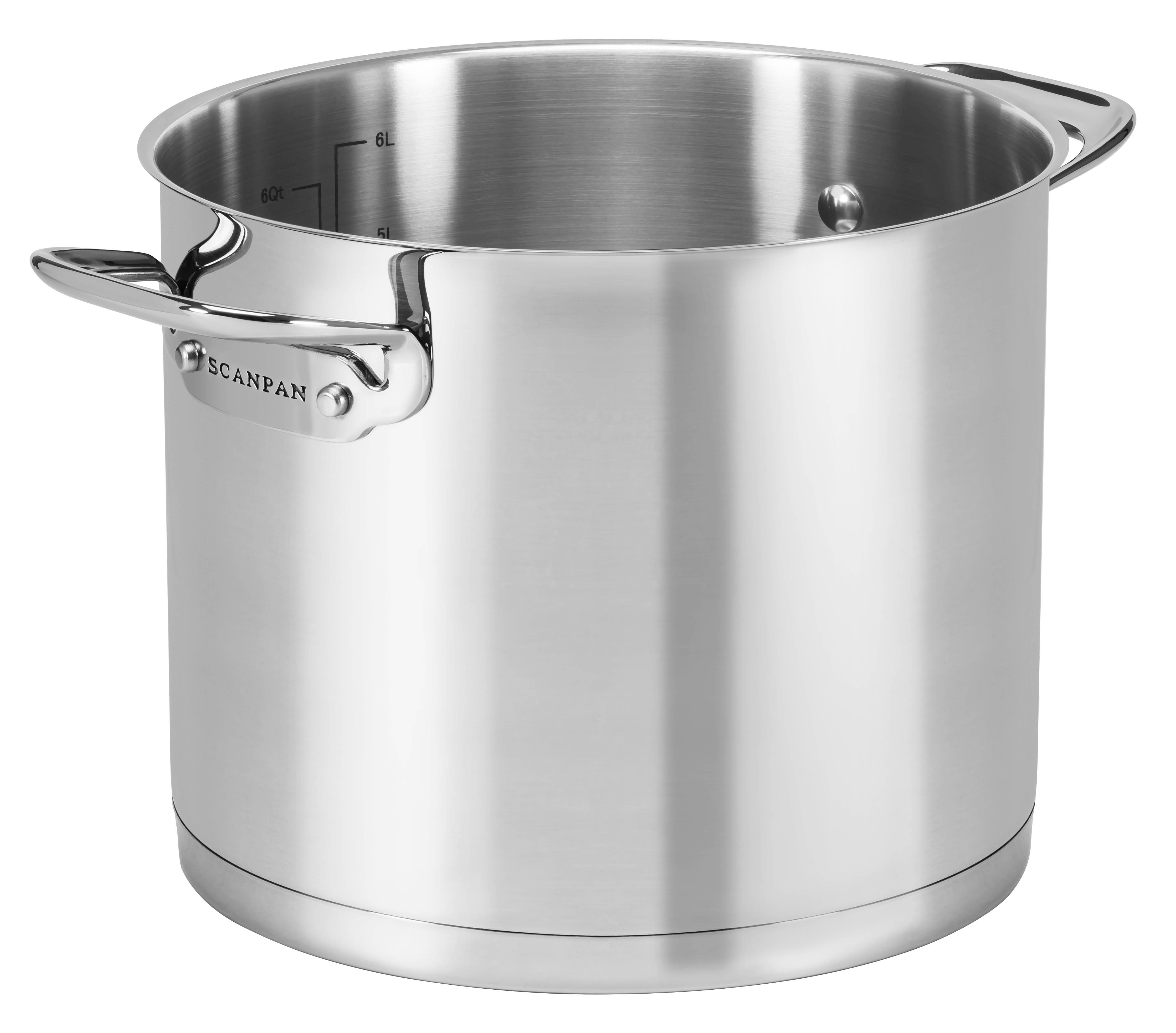 Stock Pot 6,8l/22 cm, TechnIQ, 6.8L - 22cm