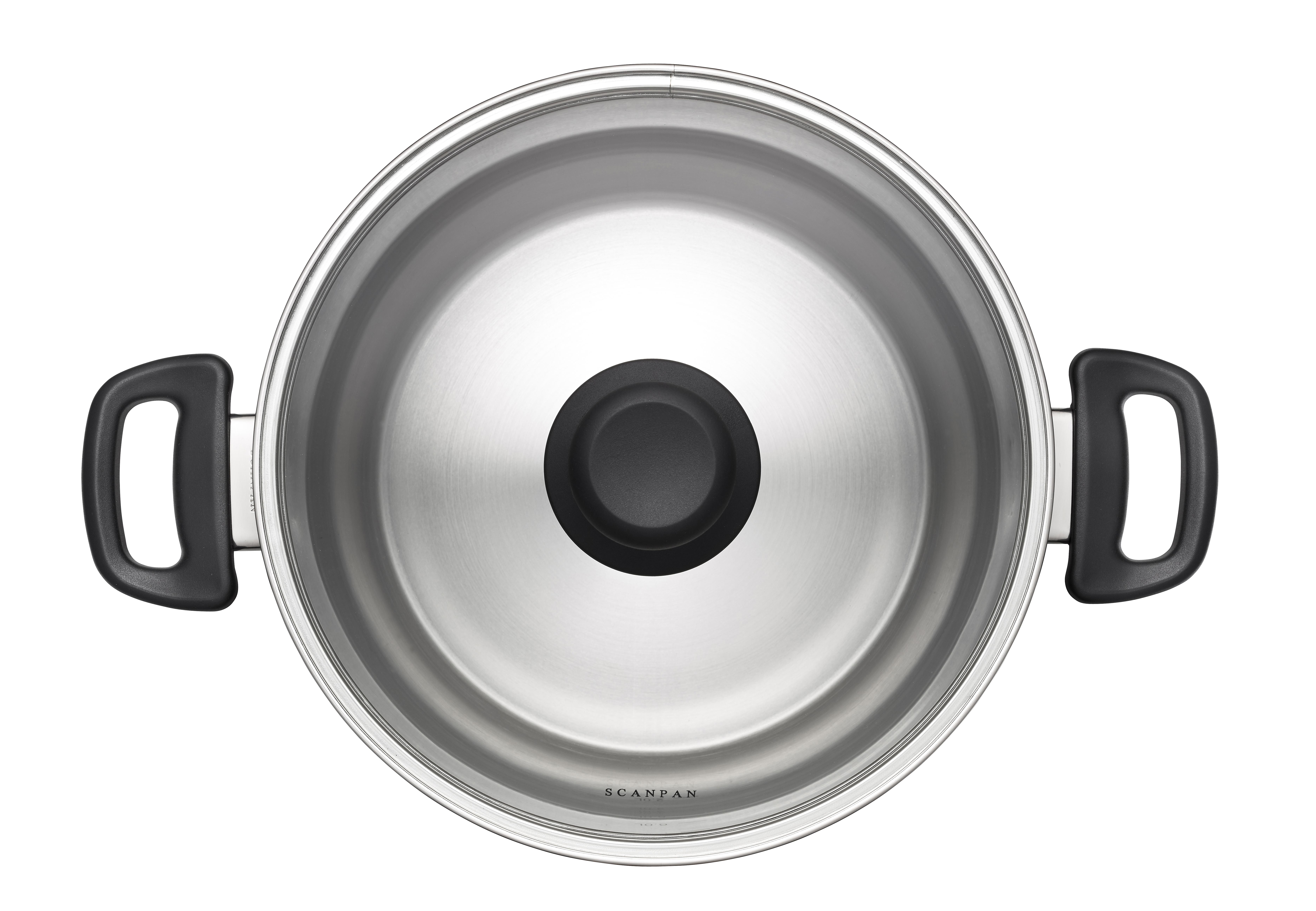 10.0 LStockPotwith lid-Classic Steel, 26cm